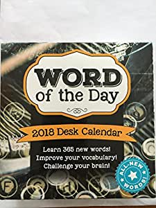 word of the day calendars