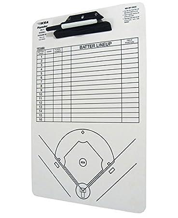 Amazon KBA Baseball Coaches 12 X 18 Playmaker Clipboard