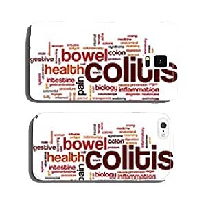 Colitis word cloud cell phone cover case Samsung S6