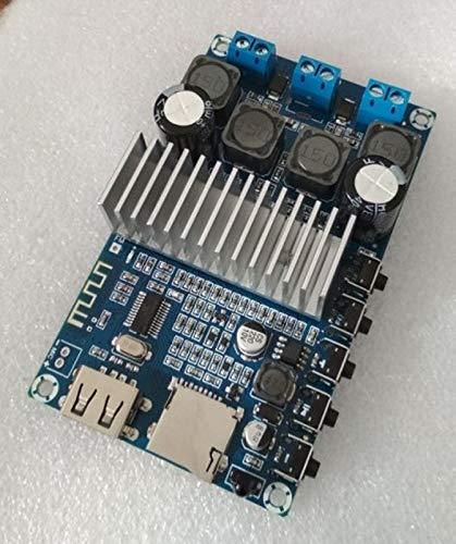 FidgetFidget Bluetooth Amplifier Board TPA3116D2 50Wx2 Bluetooth 4.2 Speaker Receive Board
