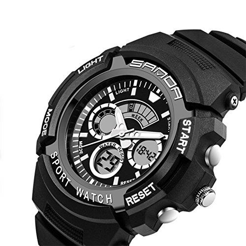 Rosepoem Relojes deportivos Relojes de los deportes al aire libre reloj multifuncional Para hombre del reloj