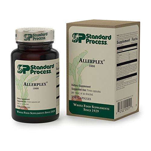 Standard Process - Allerplex - Supports Healthy Function of Liver, Sinuses, and Lungs - 150 Capsules