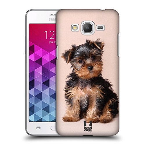 Head Case Designs Yorkshire Terrier Puppy Popular Dog Breeds Protective Snap-on Hard Back Case Cover for Samsung Galaxy