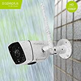 Eazieplus B3 Outdoor Wi-Fi, 1080P HD Video Monitoring, Surveillance Security Camera (White)
