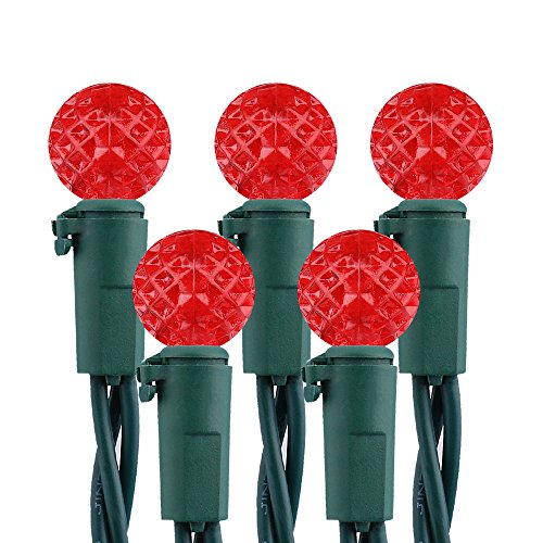 Bright Red Led Christmas Lights - 6