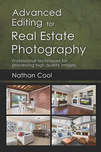 In this second book in his real estate photography series, Nathan shows advanced editing techniques to create high-end real estate images. In-depth, detailed instructions, coupled with over 150 screenshots and example images guide you step-by-step th...