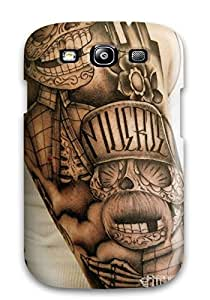 New Style Andi Silverman Hard Case Cover For Galaxy S3- Tattoo Art