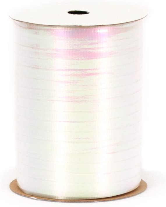 Berwick RC15 01 Crimped Iridescent Curling Ribbon, 3/16-Inch Wide by 100-Yard Spool, White: Arts, Crafts & Sewing