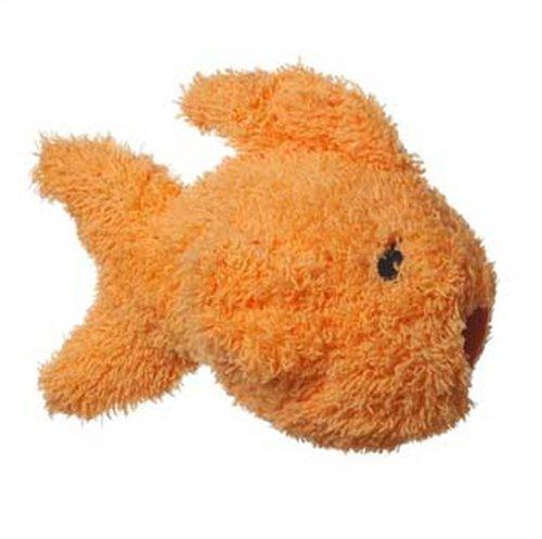 Multipet's Look Who's Washing Goldfish Talking Plush Dog Toy, My Pet Supplies
