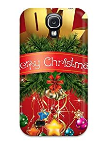High Quality LoQViCW6370eynex Merry Christmas 2012 Red Decorations Globes Xmas Santa Claus Holiday Christmas Tpu Case For Galaxy S4
