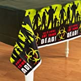 Beware of Zombies Halloween Table Cover Party Accessory