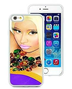 Beautiful Designed Case With Nicki Minaj White For iPhone 6 4.7 Inch TPU Phone Case