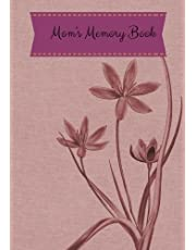 Mom's Memory Book: Lilac Flower Cover *Updated Design* Preserve Memoirs With Our Beautiful Book   Journal, Keepsake To Fill In   Perfect For Mother's Day Gifts, Mom, Mum, Grandmothers   Leave Your Legacy