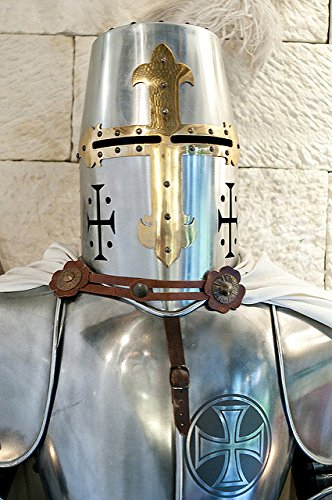 Medieval Wearable Knight Crusader Full Suit of Armor Costume by NAUTICALMART (Image #3)