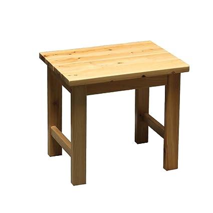 Super Amazon Com Bath Stool Cedar Bathroom Stool Wooden Stool Pdpeps Interior Chair Design Pdpepsorg