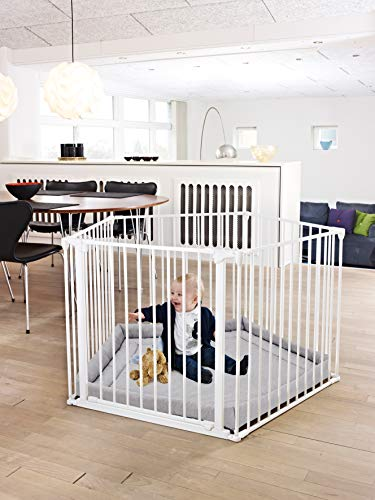 white Bright And Translucent In Appearance Babydan Baby Playpen And Playmat