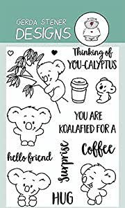 You're Koalafied Clear Stamp Set 4x6 Inches