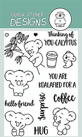 Amazon.com: You're Koalafied Clear Stamp Set 4x6 Inches: Arts ...