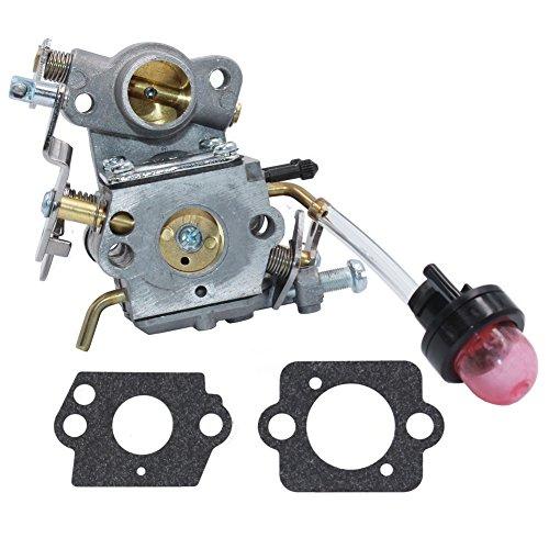 Carburetor ZAMA W-26 Craftsman C1M-W26 with Intake Gasket Primer Bulb for Poulan P3314 P3314WS P3314WSA P3416 P3516 P3516PR Chainsaw # 545070601 545040701 HUZTL (Carburetor) (Carburetor 545070601)