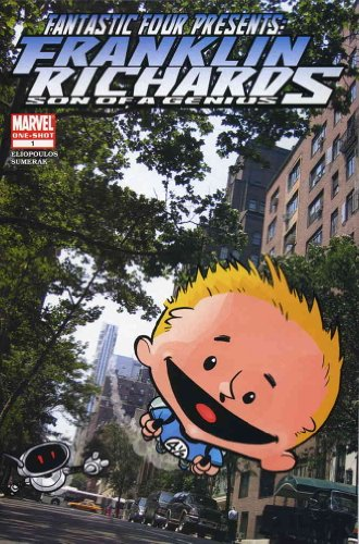 Franklin Presents - Fantastic Four Presents Franklin Richards #1 VF/NM ; Marvel comic book