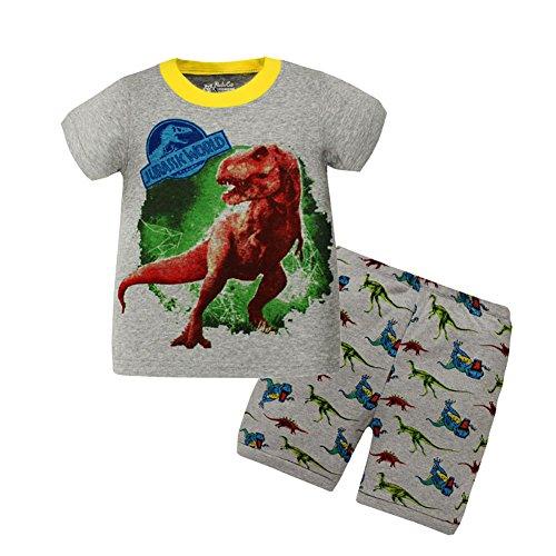 VICVIK Dinosaur Little Boys' Pajama Sets 100% Cotton Kids PJS - Online Outlet Brand Name