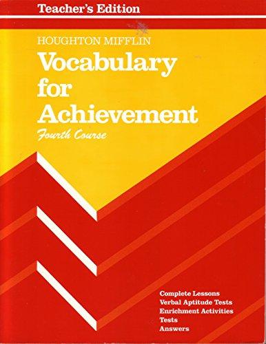Vocabulary for Achievement 4th Course Grade 10
