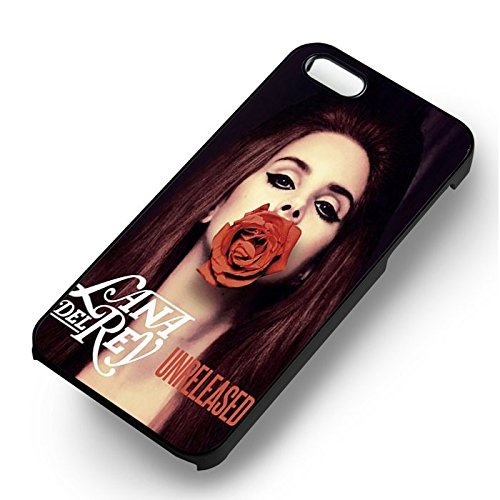 Lana Del Rey Album Couverture pour Coque Iphone 6 et Coque Iphone 6s Case (Noir Boîtier en plastique dur) U7R7NW