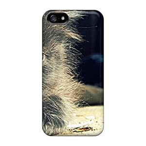 KOO3024rPHs Cases Covers Protector For Iphone 5/5s Little Black Cat Cases