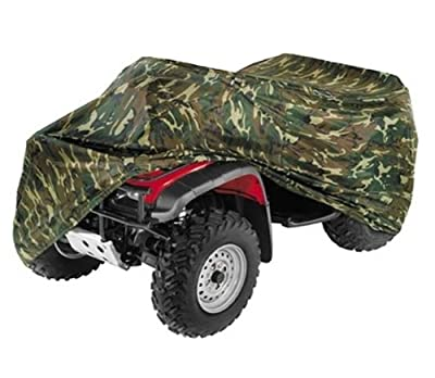 ATV Cover Quad 4 Wheeler Cover Color: Camouflage, Camo Fits Yamaha Grizzly 550 FI Auto. 4x4 EPS 2009-2011