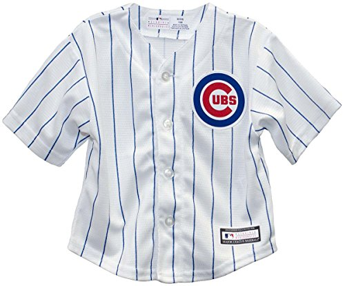 (Outerstuff Chicago Cubs Home Pinstripe Infant Jersey (24 months))