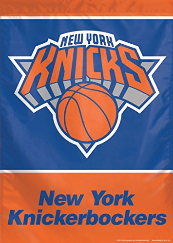 NBA New York Knicks Vertical Flag, 28 x 40 inches, one sided