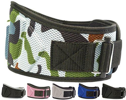 Fire Camo - Fire Team Fit Weight Lifting Belt, Weight Belt, Lifting Belt, Weightlifting Belt, Weightlifting Belts (Camo, 27