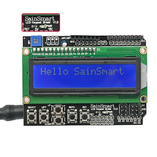 SainSmart 1602 LCD Shield Module Display V3 for Arduino UNO R3 MEGA2560 Nano DUE
