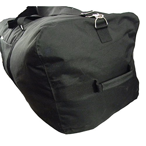 Heavy Duty Duffel Bag Large Sport Gear Drum Set Equipment Hardware Travel Bags Rooftop Cargo Rack Camping Bag 36 Inch Black