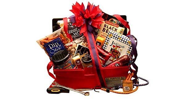 Amazon Mr Fix Its Gourmet Gift Basket For Dad Great Birthday Idea Men Everything Else