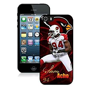 NFL&Arizona Cardinals Sam Acho iphone 5 5S phone cases&Gift Holiday&Christmas Gifts PHNK625911
