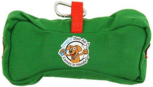 Doggie Doo All Wipes & Bags Dispenser, Kelly Green/Santa ...