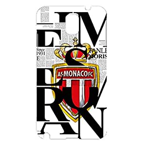 AS Monaco FC Personality Magazine Logo Nobby Plastic Phone Case for Samsung Galaxy Note 3 N9005