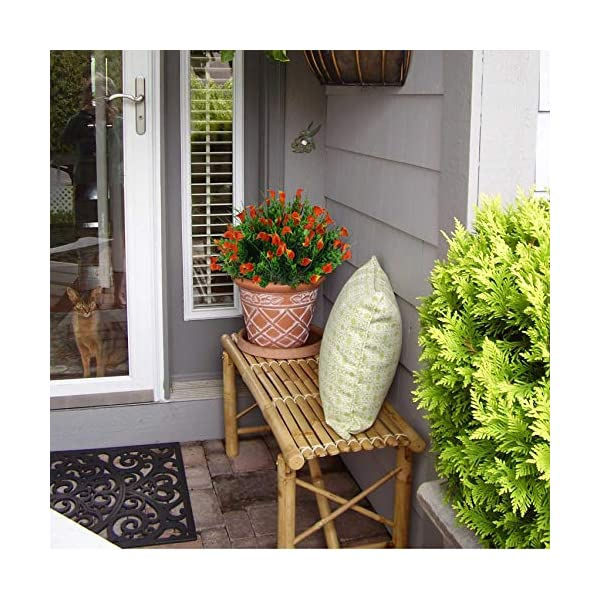 E-HAND-Lily-Fake-Flowers-Outdoor-UV-Resistant-Artificial-Plants-Faux-Shrubs-Calla-Plastic-Cemetery-Greenery