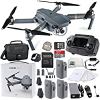 DJI Mavic Pro Collapsible Quadcopter Travel Bag Ultimate Bundle