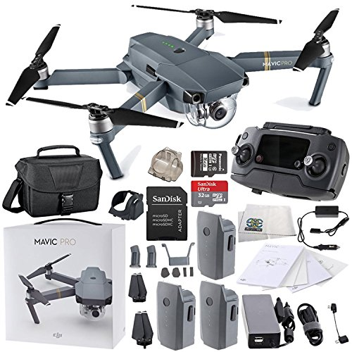 DJI Mavic Pro Collapsible Quadcopter Travel Bag Ultimate Bundle by SSE