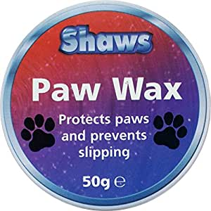 Shaws Paw Wax - Protects Dogs Paws and Prevents Slipping -50g x 3