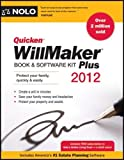 img - for Quicken Willmaker Plus 2012 Edition: Book & Software Kit 2012 Edition by Editors Of Nolo published by NOLO (2011) book / textbook / text book