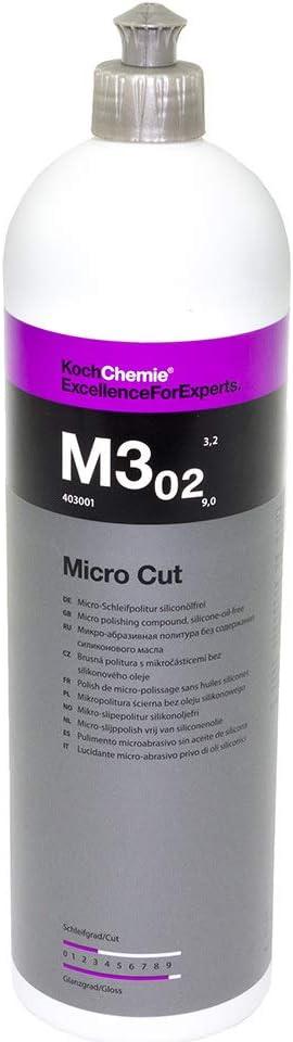 Koch Chemie M3 02 Micro Cut Antihologramm Hochglanzpolitur Politur 1 L Liter Auto