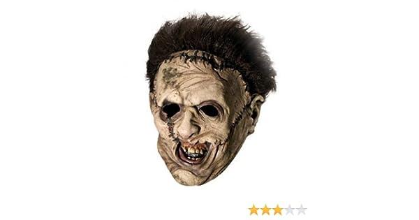 Rubies - Máscara de Leatherface con peluca completa: Rubies: Amazon.es: Juguetes y juegos