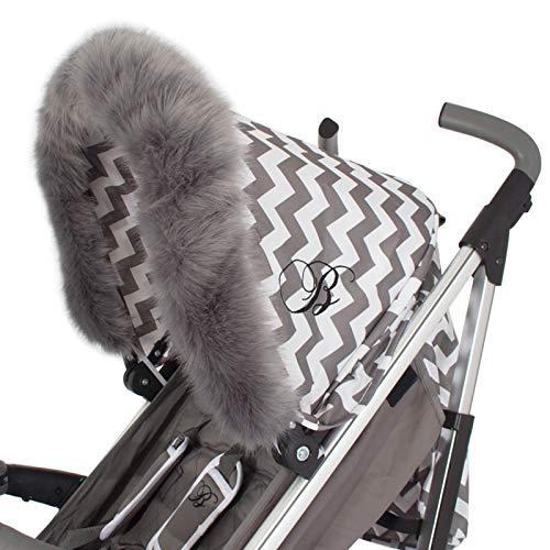 My Babiie - Cochecito/cochecito de bebé universal, color gris