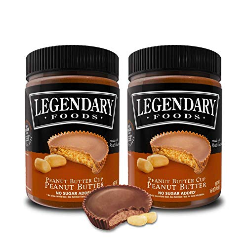 Amazon.com : Legendary Foods Keto Peanut Butter - Natural Ingredients, Cocoa, Coconut Oil, Rich In Protein. Raw Healthy Spread - No Added Sugar or ...