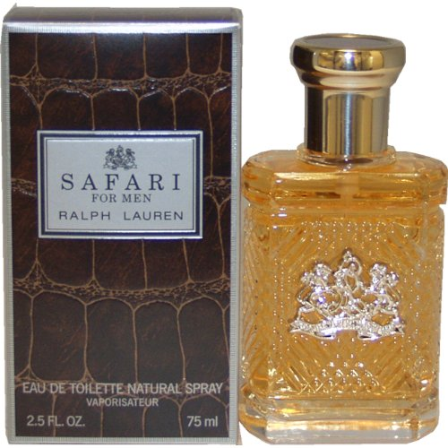 Ralph Lauren Safari Eau De Toilette Spray for Men, 2.5 Ounce