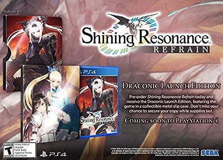 Shining Resonance Refrain Draconic Launch Edition- PlayStation 4