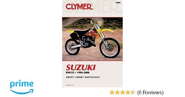 Suzuki rm125 1996 2000 clymer motorcycle repair penton staff suzuki rm125 1996 2000 clymer motorcycle repair penton staff 9780892877973 amazon books fandeluxe Image collections